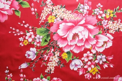 peony flowers chinese fabrics background hd picture 166820